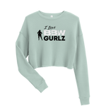 BBW Crop Sweatshirt - I Love BBW Collection