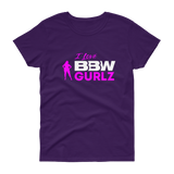 BBW GURLZ - Women's short sleeve scoop neck t-shirt