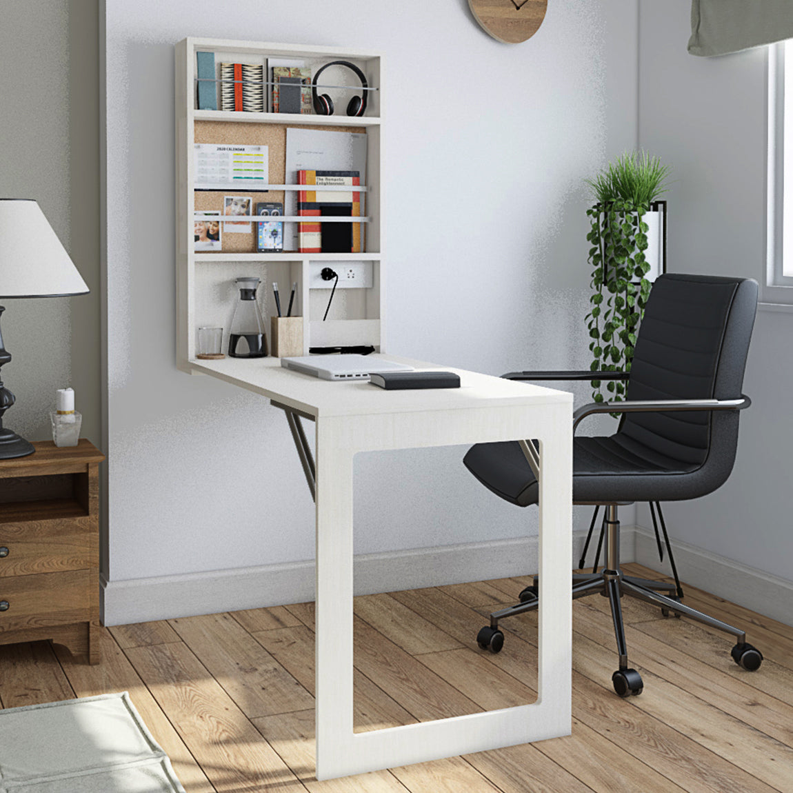 The Floating Workpod Vertical- Work From Home Collapsible/ Foldable Table