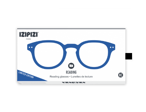 abe2d458d2 IZIPIZI  C shape READING Electric blue crystal reading glasses ...