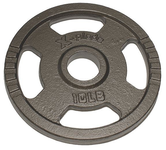 X-plode Olympic Plates Hammertone