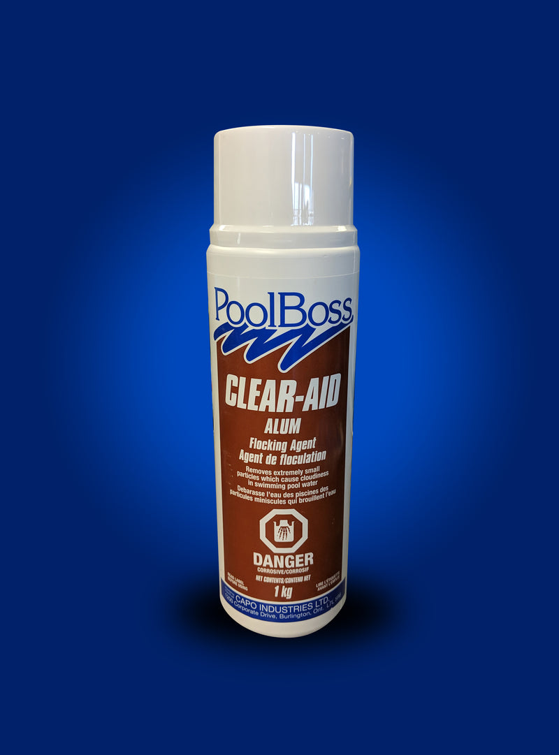 PoolBoss Clear-Aid Alum Flocking Agent 1kg