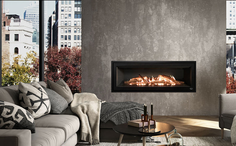 "Valcourtinc l48 - 48"" linear gas fireplace"