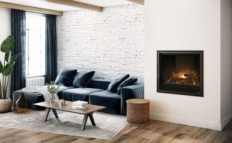 "Valcourtinc S36 - 36"" Square Gas Fireplace"