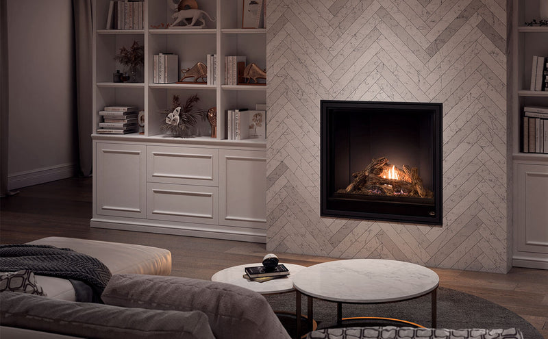 "Valcourtinc S42 - 42"" Square Gas Fireplace"