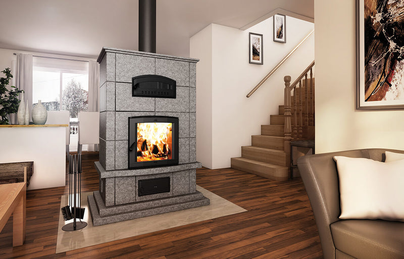Valcourtinc FM1000 Mass Fireplace with Oven