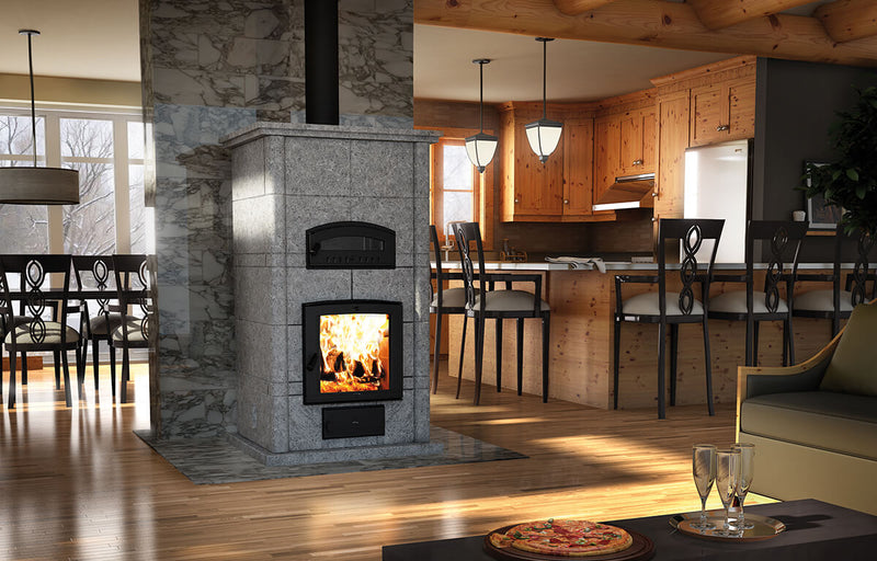 Valcourtinc Fm1200 Mass Fireplace with Oven