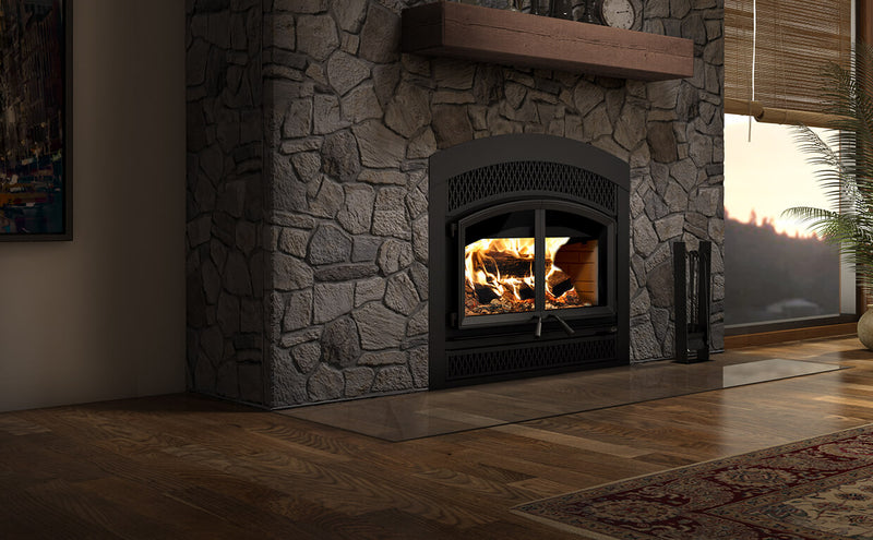 Valcourtinc  FP15A Waterloo - Arched FacePlate Wood Fireplace