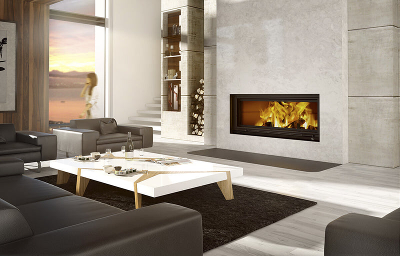 Valcourtinc FP16 St-Laurent - Linear Wood Fireplace