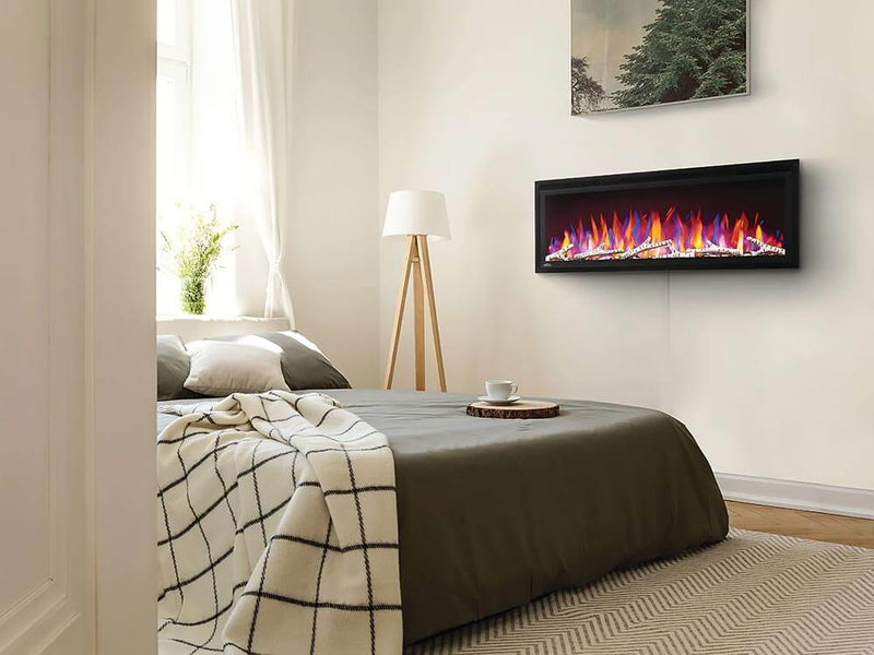 Napoleon 36-In Entice Wall Mount Electric Fireplace