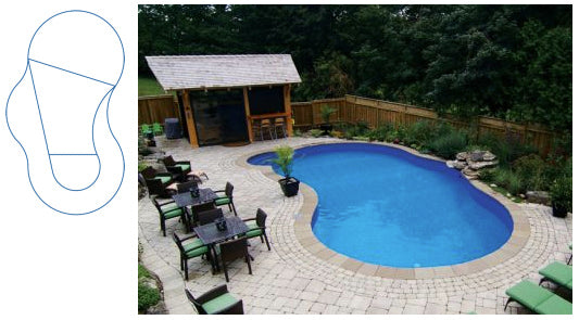 Gemini – 16' x 32' In-Ground Pool