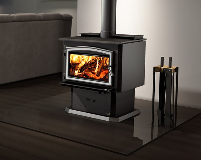 3500 Wood Stove with Blower