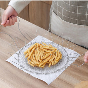 Foldable Multi-Purpose Deep Fry Basket