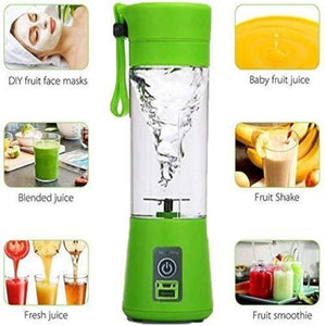 Portable USB Juicer Blender Bottle