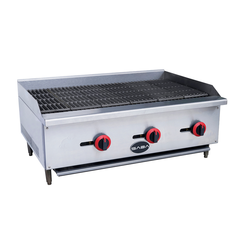 SABA CB-36 - Commercial Gas Radiant Broiler