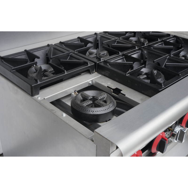 SABA GR-36 - Commercial Gas 6 Burner with Oven