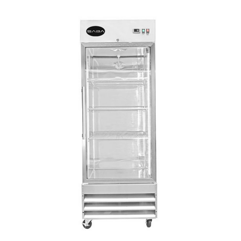 SABA S-23FG - One Glass Door Commercial Reach-In Freezer