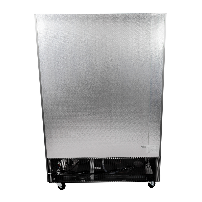 SABA S-47F - Two Door Commercial Reach-In Stainless Steel Freezer