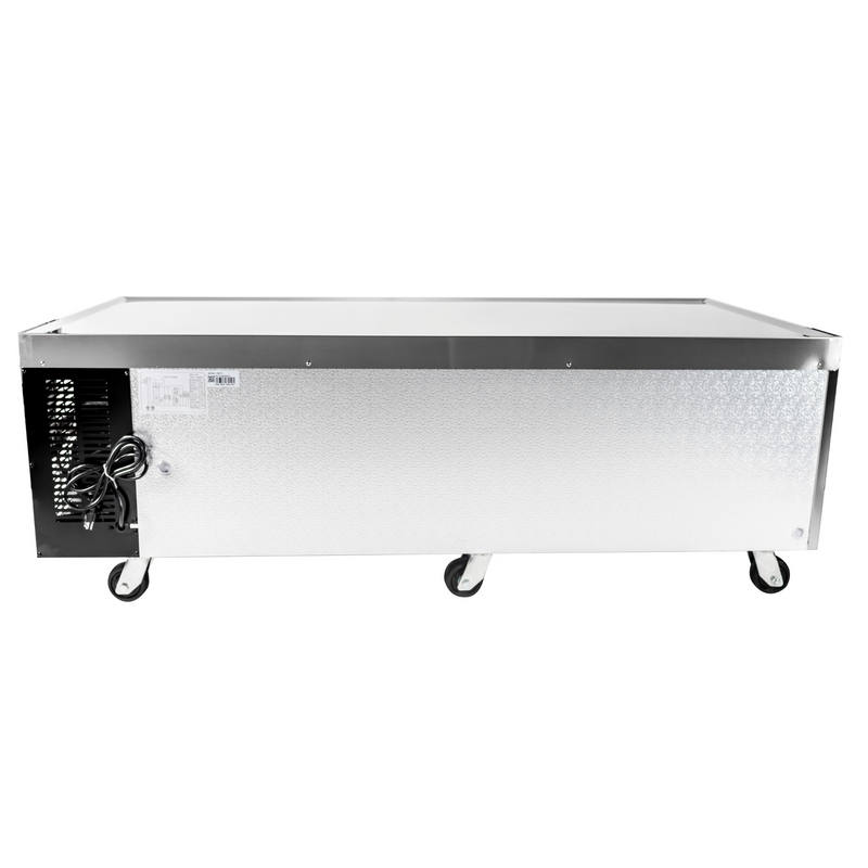 "SABA SCB-72 - 72"" Four Drawer Commercial Chef Base Cooler"