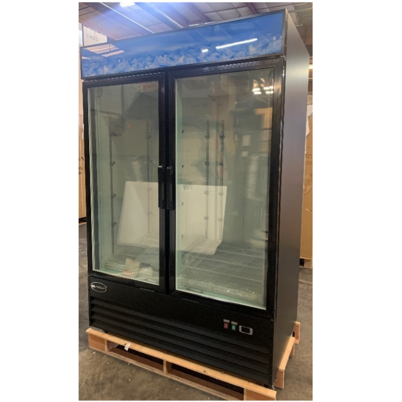 SABA SM-45F - Two Glass Door Commercial Merchandiser Freezer (1A)