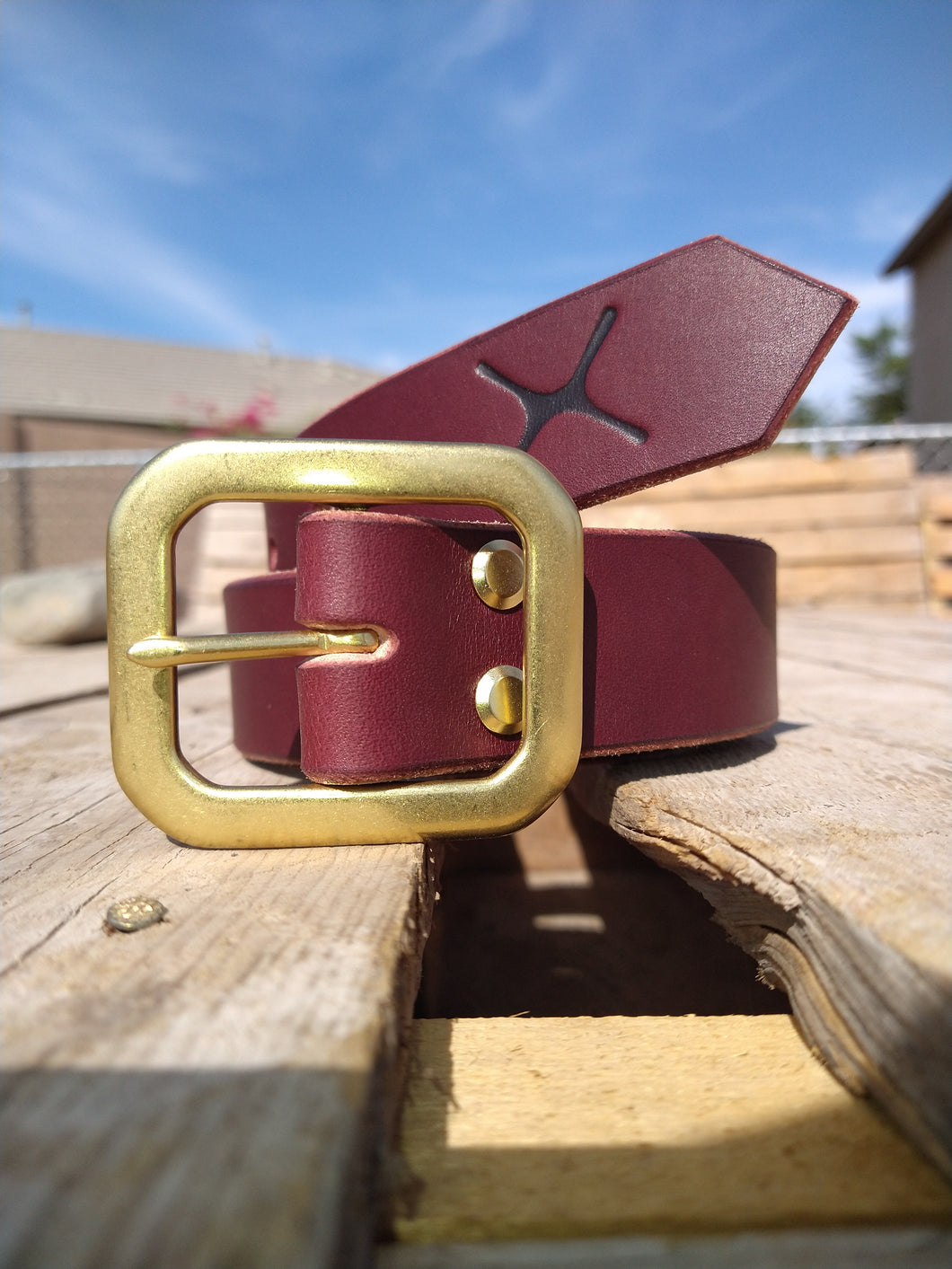The Oxblood Belt