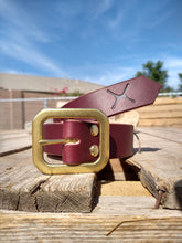 Load image into Gallery viewer, The Oxblood Belt