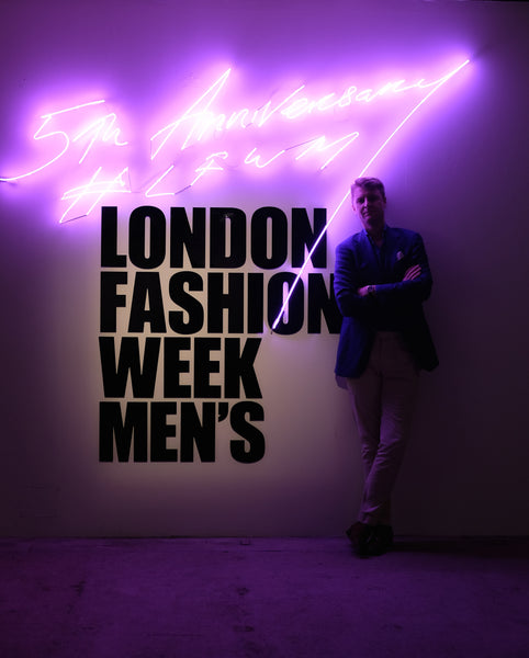 London Fashion Week Mens Guy Field