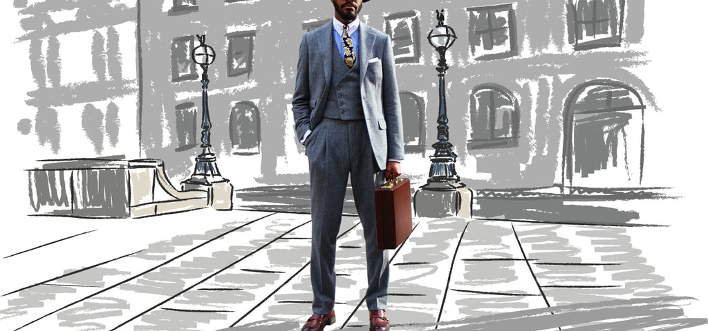 Guy Field 3 piece suit tailoring
