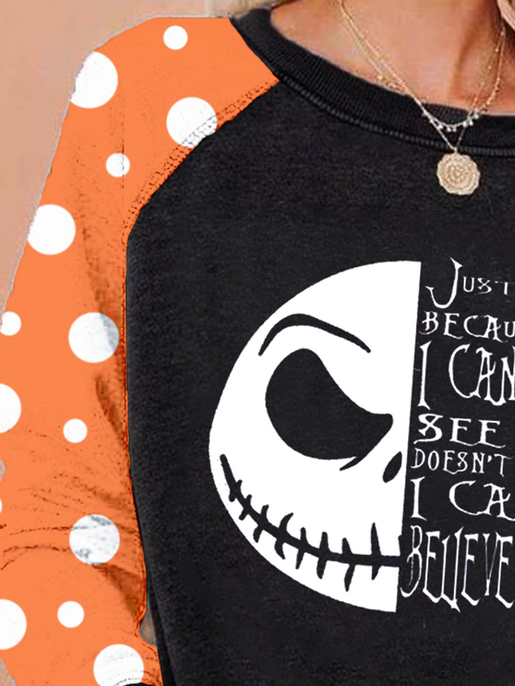 Black Halloween Sweatshirt