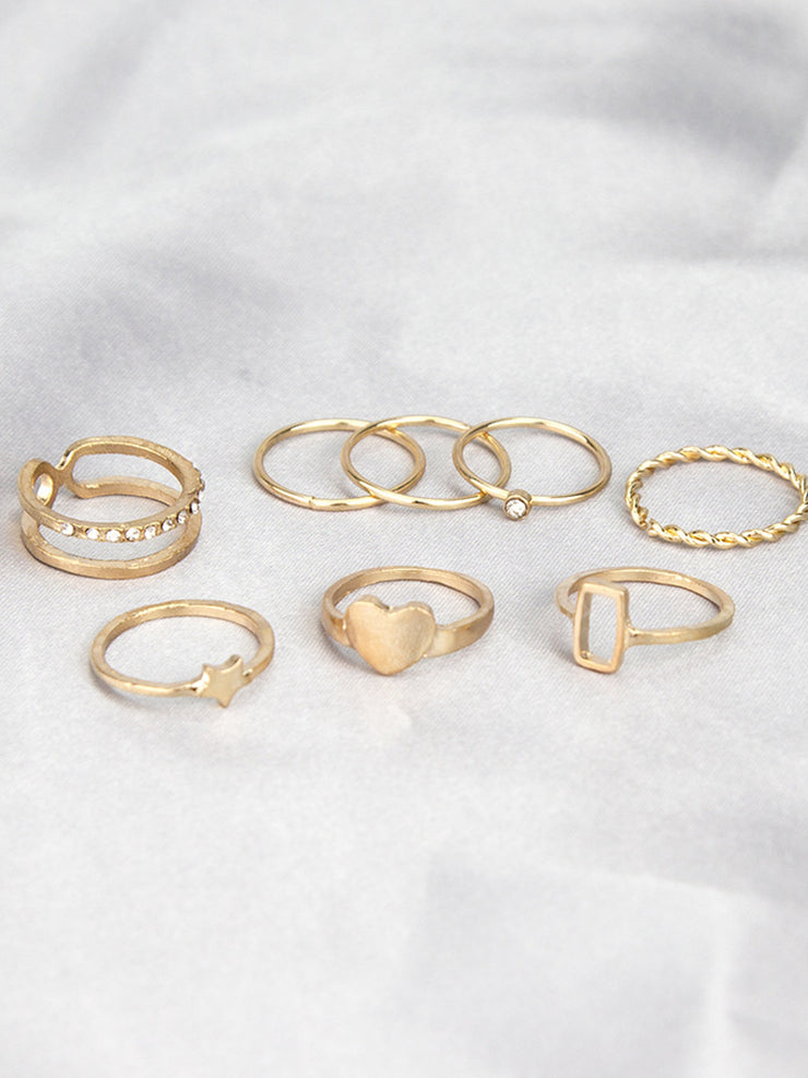 Knuckle ring combination ring