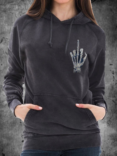 Long Sleeve Punk Sweatshirt