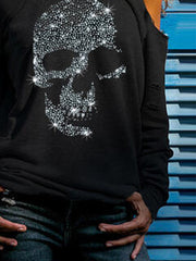 Skull Casual Shirts & Tops