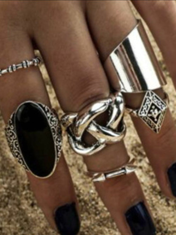 Alloy Casual Rings
