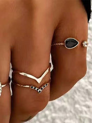 Casual Alloy Rings