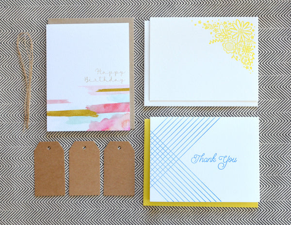 Pennie Post Stationery Subscription Letterpress