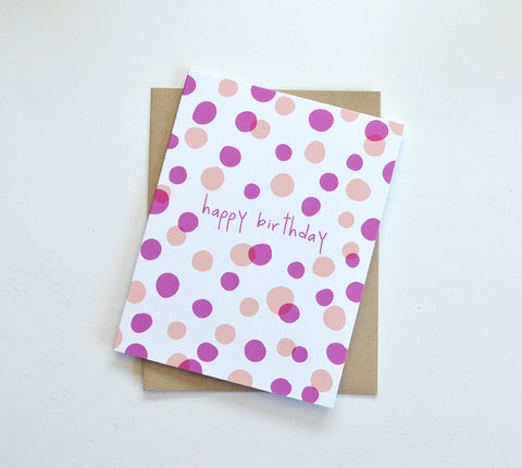 dot to dot birthday card