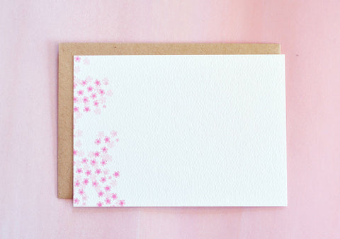 Cherry Blossom Sakura Notecards