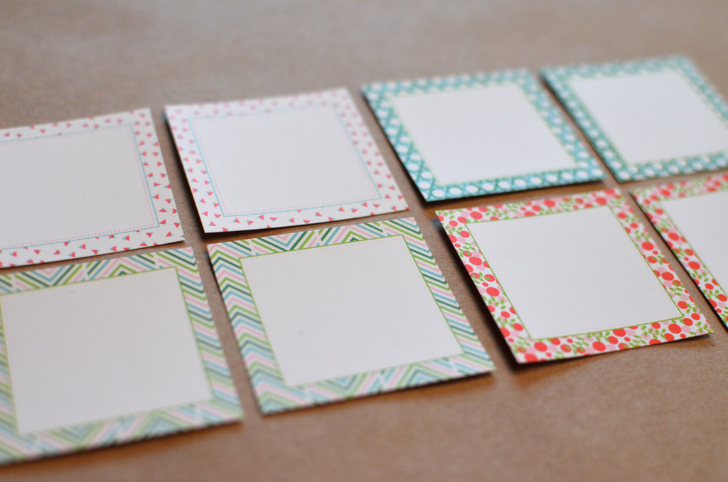 Patterned Gift Tag Stickers