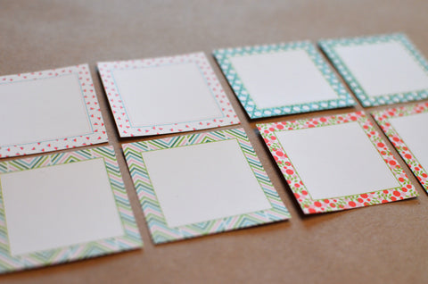 Patterned Gift Stickers
