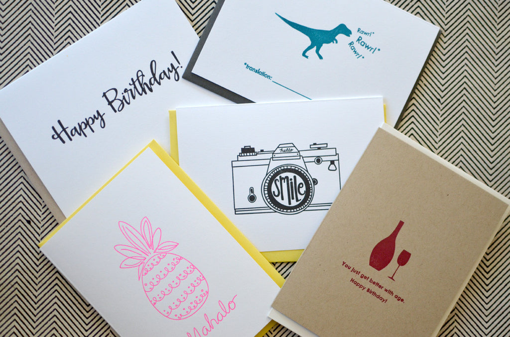 Lovely Letterpress Gift Set