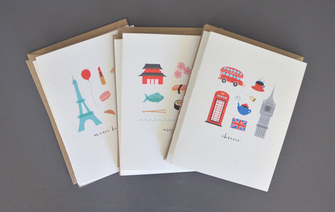 Destination Note Card Set