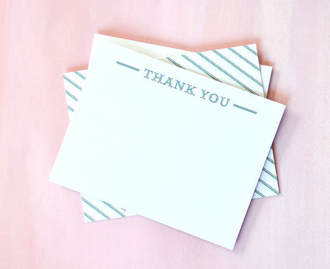 Thank You Overlay Note Cards
