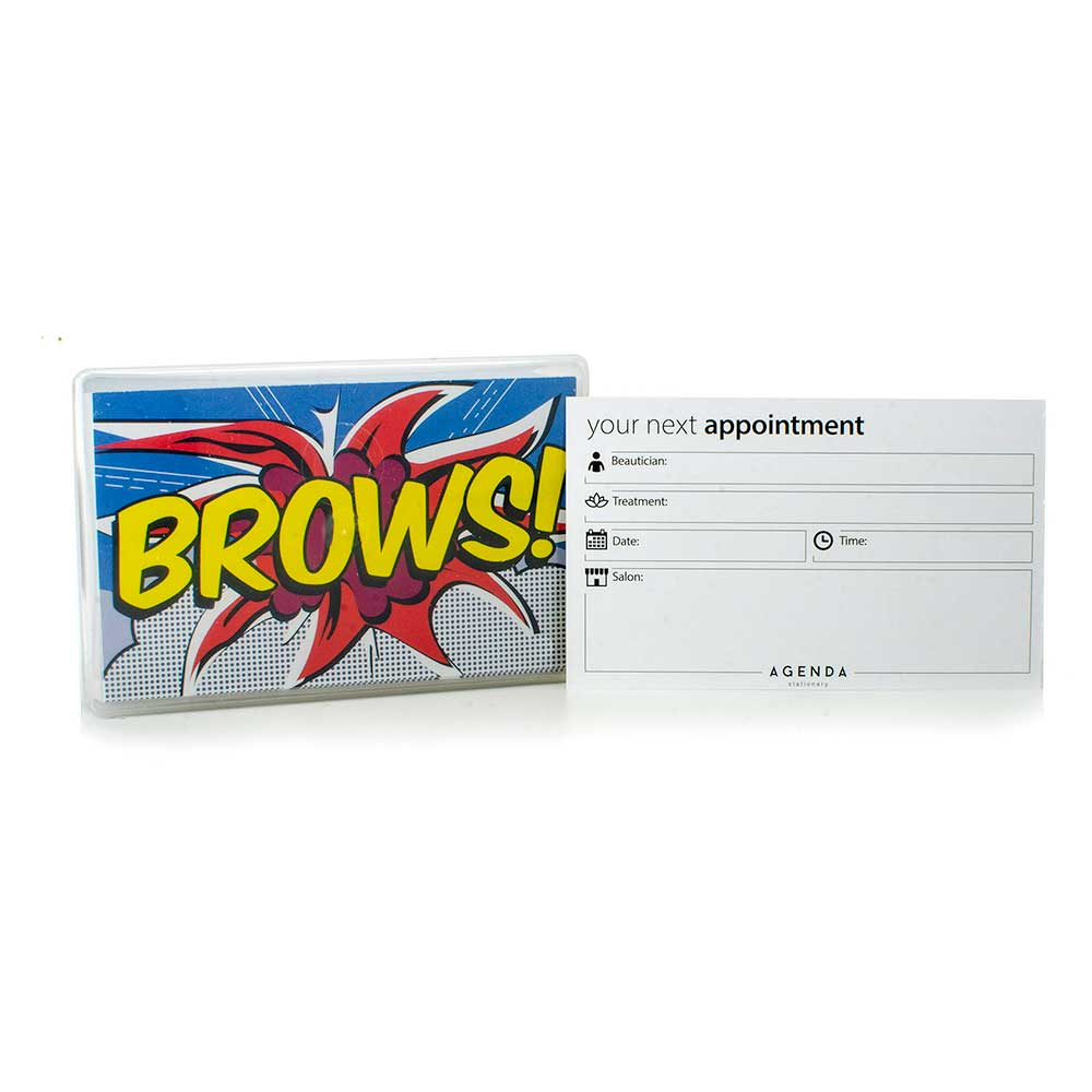 Appointment Cards (AP12B Pop Art Brows)