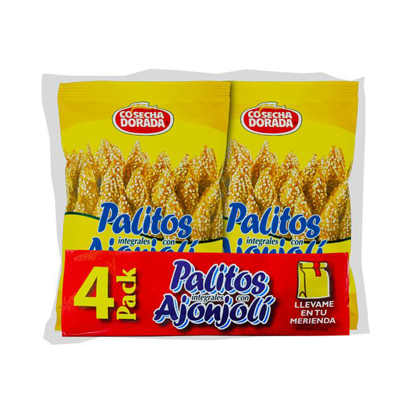 4 Packs Palitos de Ajonoli