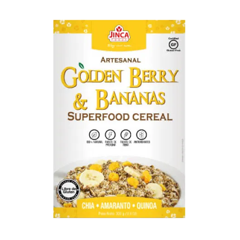 cereal golden berry y bananas