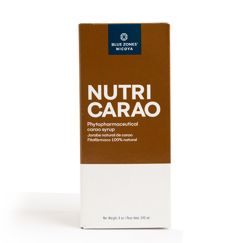 BLUE ZONES NICOYA JARABE NATURAL NUTRICARAO BOTELLA 240 ml