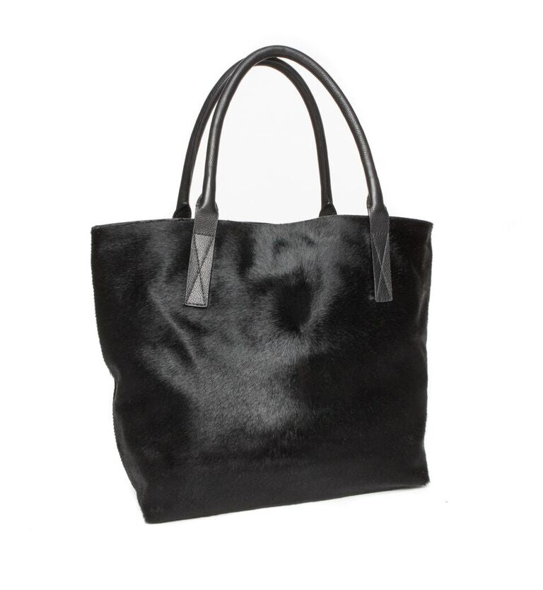 Aspen Day Tote in Black
