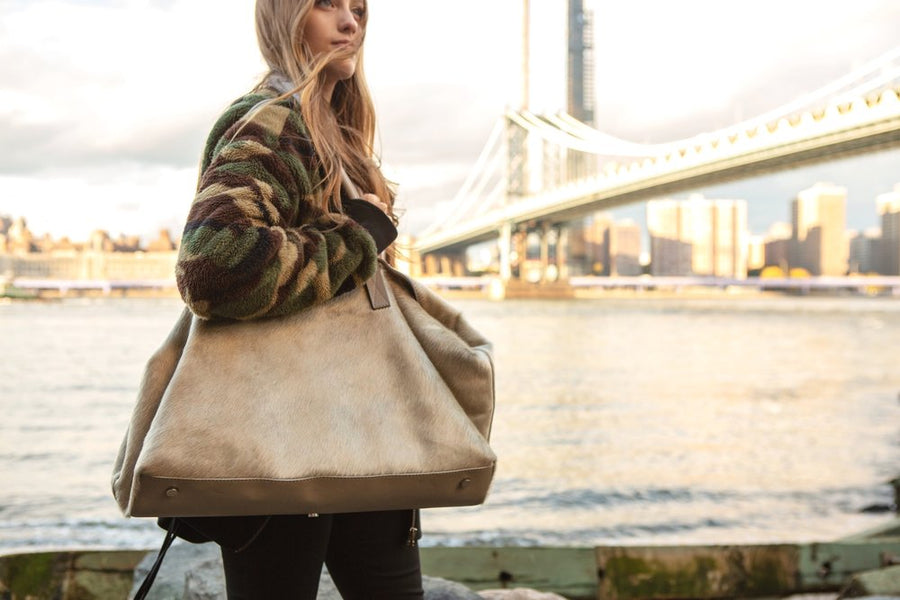 Monaco Weekender in Champagne - Canvas & Hyde NYC
