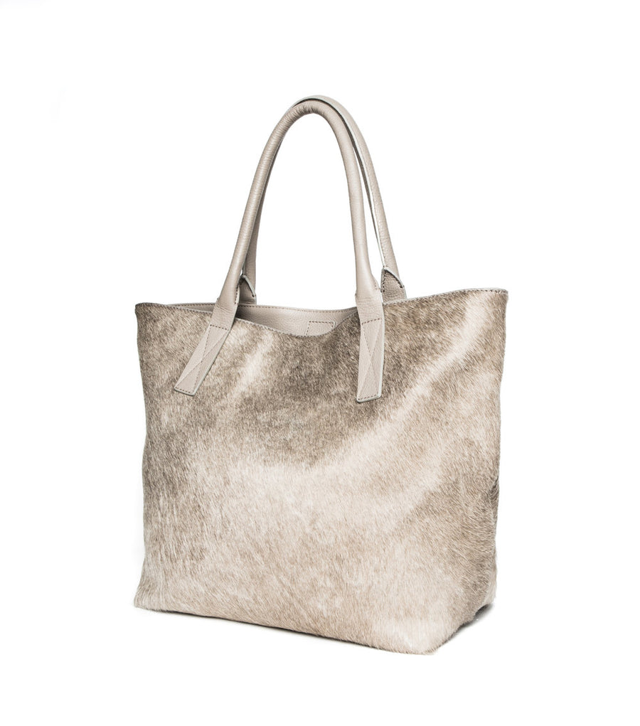 Aspen Day Tote in Champagne (Sleek) - Canvas & Hyde NYC