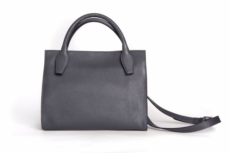 Sydney Tote - Dark Grey - Canvas & Hyde NYC